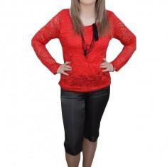 Pantalon lucios, gri, design de buzunare si nasturi aplicati