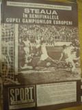 Revista Sport (nr. 3 martie 1988) - Steaua Bucuresti in semifinalele CCE