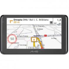 Sistem de navigatie Mio Spirit 8670 LM Truck, diagonala 6.2, Bluetooth, TMC, Full Europe + actualizari gratuite pe viata