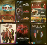 Colectie Filme Marvel DVD BoxSets Complete Collections Originale, Engleza, independent productions