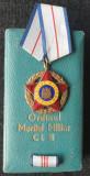 Ordinul Meritul Militar Republica Populara Romana decoratie la cutie medalie Rar