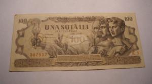 100 lei 1947 August XF Piesa de Colectie