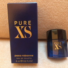 NOU ! Mini Parfum Pure XS by Paco Rabanne (6 ml), Apa de toaleta, Mai putin de 10 ml