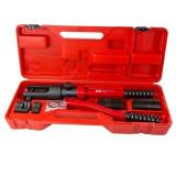 Cumpara ieftin Presa hidraulica manuala pentru sertizare cabluri cu insertii de ondulare Dema DEMA18537, 10-300 mm, 10.2 Tone