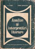 Analize si interpretari literare _ Ursu si Mihailescu * 23, Didactica si Pedagogica