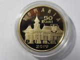 ROMANIA 50 BANI 2019 - PROOF - 550 de ani de la sfințirea Mănăstirii Putna (75)
