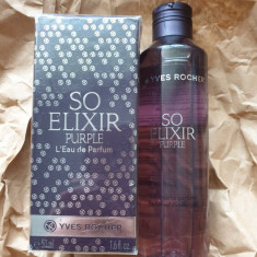 Set Apa de parfum SO ELIXIR PURPLE 50ml + Gel dus parfumat 200 ml Yves Rocher