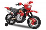 Motocicleta electrica pentru copii BJ014 45W 6V STANDARD Rosu