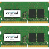 Memorie notebook Crucial 32GB, DDR4, 2400MHz, CL17, 1.2v, Dual Rank x8, Dual Channel Kit