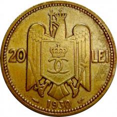 Romania, 20 lei 1930_stare buna spre foarte buna * cod 71