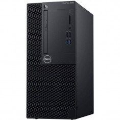 Sistem desktop Dell OptiPlex 3060 MT Intel Core i5-8500 8GB DDR4 256GB SSD Linux Black 3Yr CIS