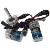 Set Bec Xenon H27- 4300K, Rolinger HID, Alb-Rece, 12V, 55W