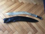Cutit nepalez Kukri,sabie cu teaca ,dimensiuni mari