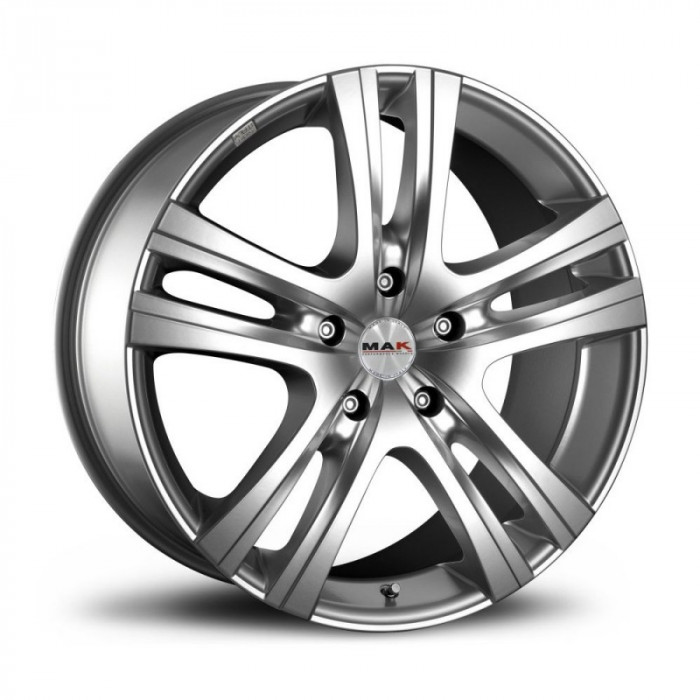 Jante GREAT WALL MOTOR HOVER 2wd 8J x 18 Inch 6X139,7 et0 - Mak Aria 6 Silver - pret / buc