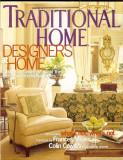 "Revista  SUA ""TRADITIONAL HOMES"", lb. engleza, mai 2003, 208 pagini"