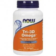 NOW TRI-3D OMEGA 90 SOFTGEL