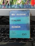 Mic dicționar italian român, Alexandru Balaci, București 1971, 058