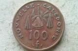 MONEDA 100 FRANCI 1984-NOUA CALEDONIE, Australia si Oceania