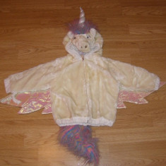 costum carnaval serbare animal unicorn ponei pentru copii de 1-2 ani