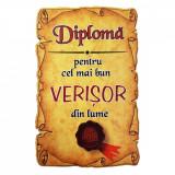 Magnet Diploma pentru Cel mai bun VERISOR din lume, lemn, Alexer