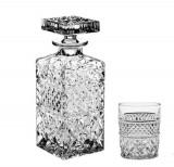 Cumpara ieftin Set 6 Pahare si Sticla Whisky Madison Bohemia Cristal Cod Produs 58