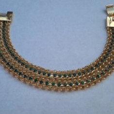 Bratara Glamour Emerald Brilliant
