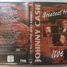 [DVD] Johnny Cash - Greatest Hits Live  - dvd original