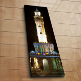 Tablou decorativ pe panza Horizon, 237HRZ1282, 30 x 90 cm, Multicolor