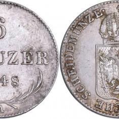 1848 - A - 6 kreuzer - Ferdinand I - Imperiul Austriac