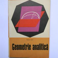 GEOMETRIE ANALITICA - ALEXANDRU MYLLER