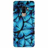 Husa silicon pentru Samsung S9 Plus, Blue Butterfly 101