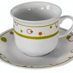 Set cesti cafea si ceai din portelan MN015603 Raki