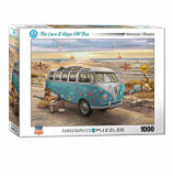Cumpara ieftin Puzzle Eurographics - The Love & Hope VW Bus, 1000 piese