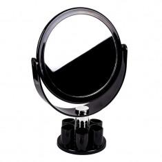 Oglinda cu organizator, 15 x 26 cm, Negru