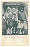 3072 - ETHNIC, Bucovina - old postcard - unused