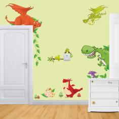 Stickere pentru copii Dragoni jucausi