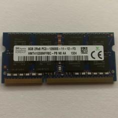 Memorie Laptop SKhynix 8GB DDR3 PC3-12800S 1600Mhz 1.5V