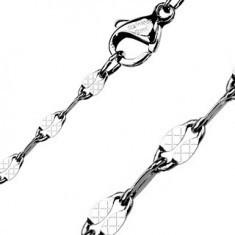 Lănțișor din oțel inoxidabil - ochiuri ovale