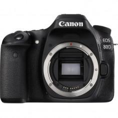 Aparat foto DSLR Canon EOS 80D, 24.2 MP, WiFi, Body
