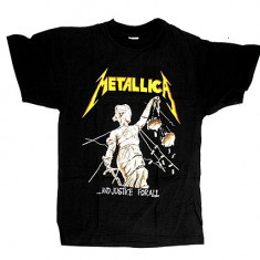 Tricou Metallica - Justice For All ( model 2 ), L, S
