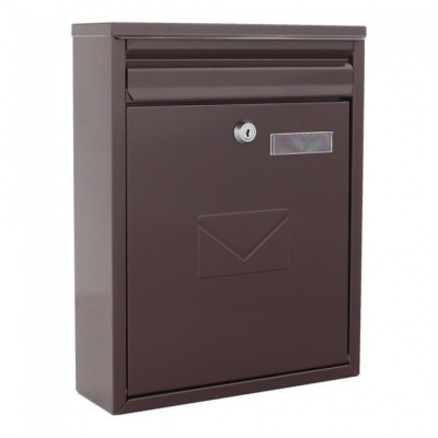 Cutie poștală COMO maro foto