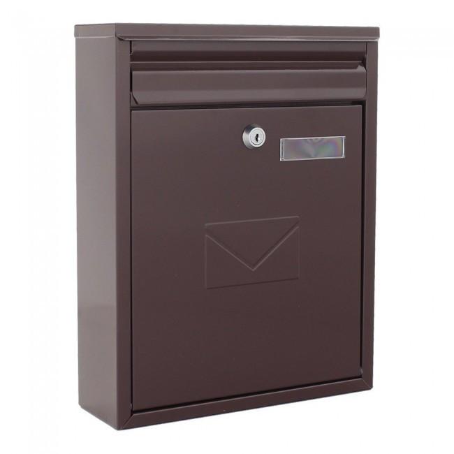 Cutie poștală COMO maro