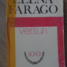 VERSURI (COTOR UZAT, INTERIOR OK) - ELENA FARAGO