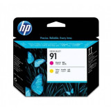 Consumabil HP HP C9461A INK 91 PRINTHEAD MAGENTA YELLO