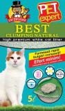Cumpara ieftin Nisip litiera pisici, Pet Expert, Clumping Natural, Bentonita, 5 L
