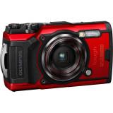 Cumpara ieftin Aparat foto Olympus Tough TG-6, Waterproof, 12 MP, Rosu