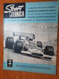 sport si tehnica februarie 1971-raliuri alpine ijn retezat,motociclism,alpinism