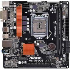Placa de baza Asrock H110M-DGS R3.0 Intel LGA1151 mATX