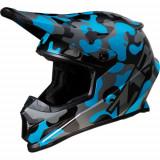 Casca Atv/Cross Z1R RISE, marimea XL, culoare camo albastru Cod Produs: MX_NEW 01106089PE