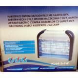 Aparat anti insecte, tantari, muste, molii cu lampa UV (acopera 60 mp)